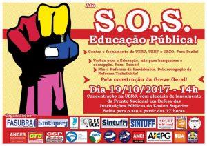 S.O.S. Educação Pública @ Capela Ecumênica