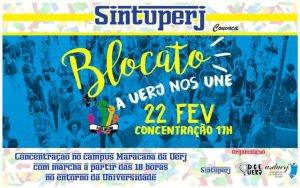 "Blocato ""A Uerj nos une"" @ Campus Maracanã da Uerj"