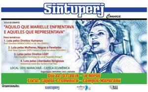 Ciclo de debates: Aquilo que Marielle enfrentava e aqueles que representava @ Capela Ecumênica da Uerj