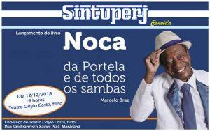 SINTUPERJ CONVIDA: Noca da Portela lança livro com roda de samba na Uerj @ Teatro Odylo Costa, filho
