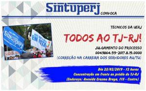 SINTUPERJ CONVOCA: Todos ao TJ-RJ! @ Tribunal de Justiça do Rio de Janeiro